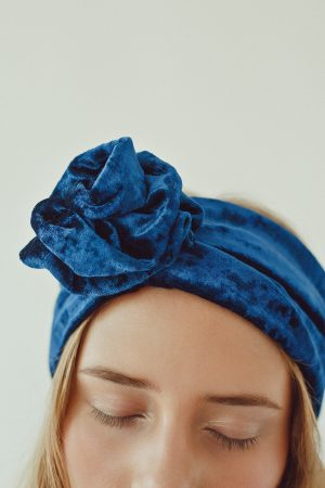Turban Velvet Wrapped